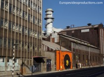 The industrial decay of the City of Charleroi in Belgium
