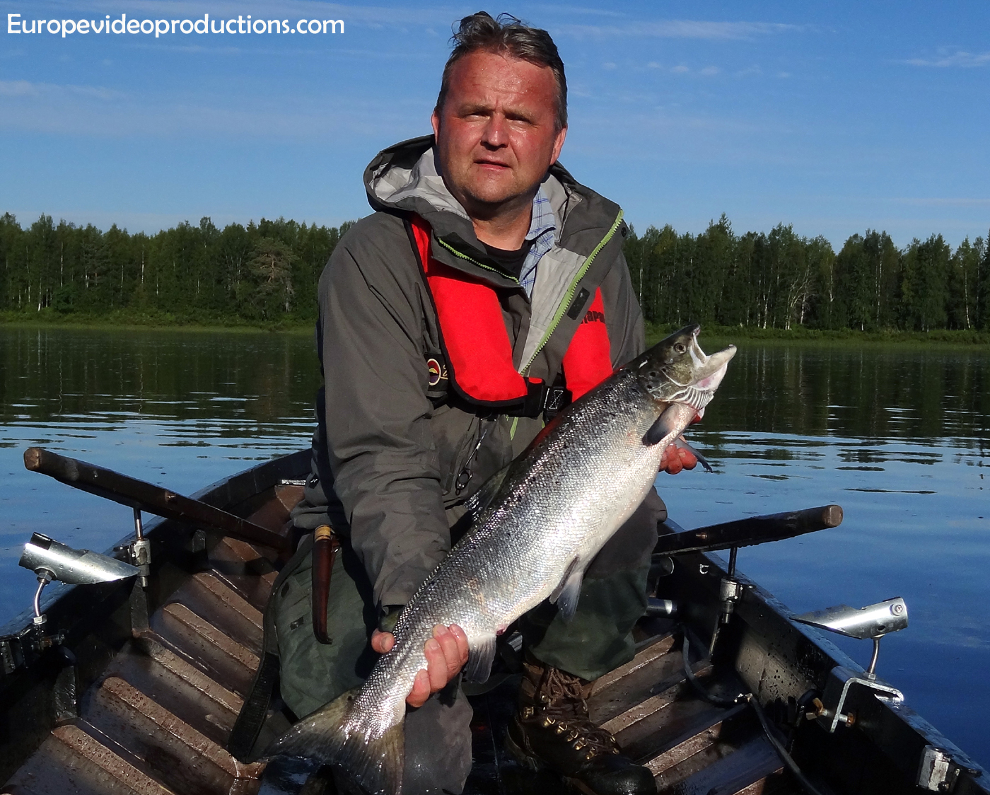 Finland's fishing capital – Pello in Lapland in Tornio river valley