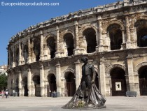 Arena in Nîmes, France