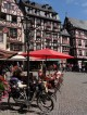 Market Square of Bernkastel-Kues in Mosel in Germany