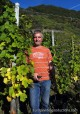 Vintner Thomas Franzen-Martiny, producer of organic wines in Bremm Village in German Mosel