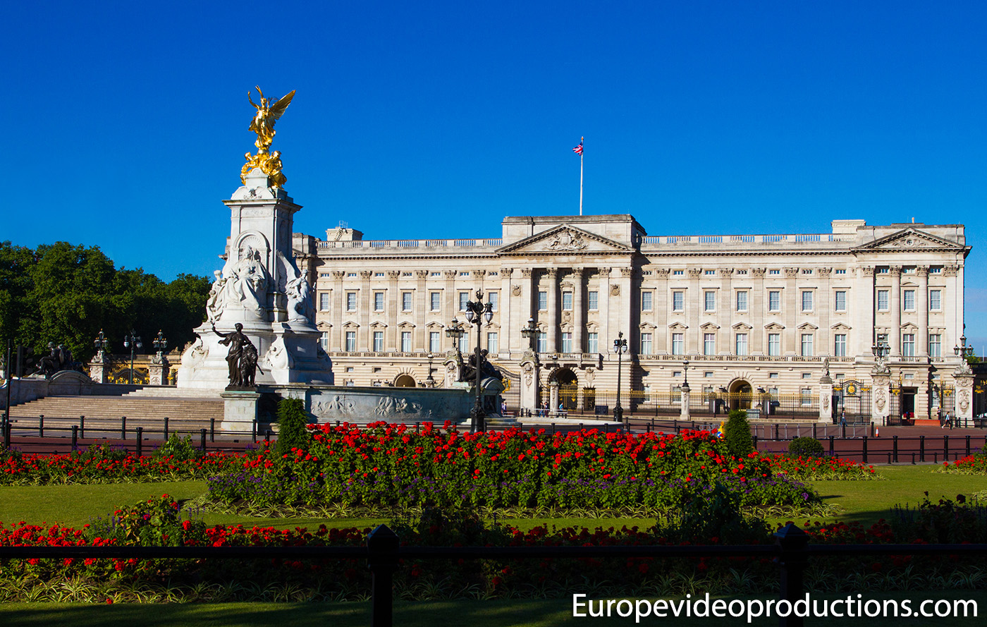 Buckingham Palace in London in United Kingdom