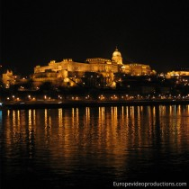 Budapest in Hungary by night