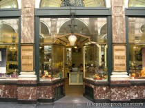 Chocolate Shop in the Royal Gallery in Brussels, Belgium