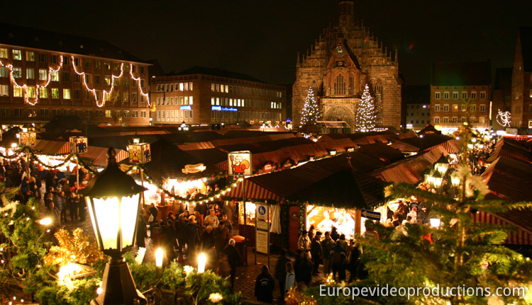 Christkindlesmarkt  – Nuremberg Christmas market in Germany