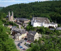 Town of Clervaux in Northern Luxembourg