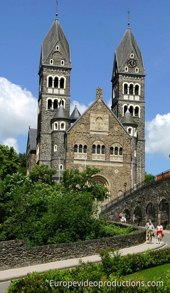 Clervaux: Church of Saints Cosma and Damien