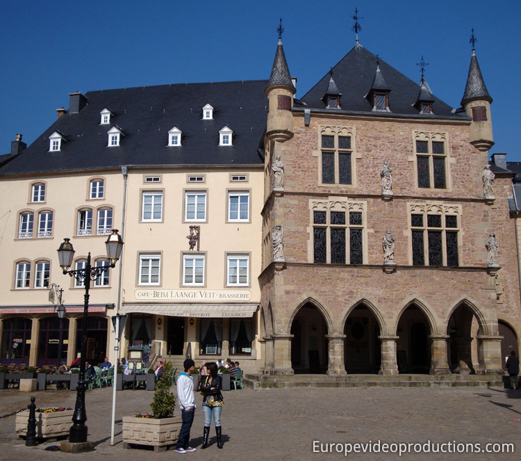 Echternach in Grand Duchy of Luxembourg