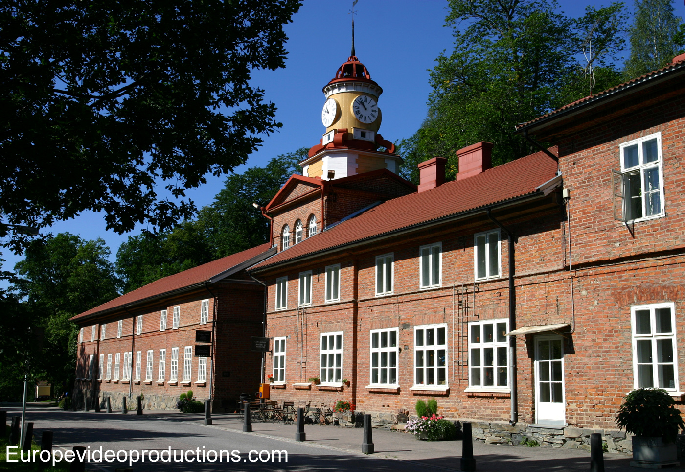 Fiskars design and art Village in Uusimaa region in Southern Finland