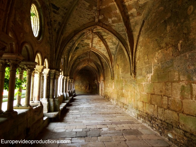 Fontfroide Abbey close to Narbonne in Southern France