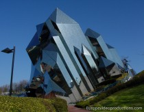 Futuroscope theme park in Poitiers in France