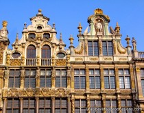 Houses of the Grand Place in Brussels, Belgium