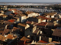 Gruissan in Languedoc-Roussillon in France