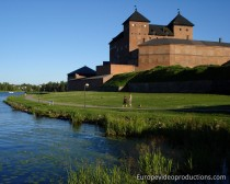 Medieval Häme Castle in Hämeenlinna in south Finland
