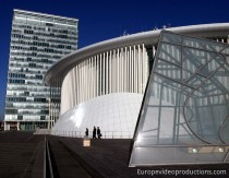Philharmonie of Luxembourg in Luxembourg City