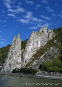 Meuse Valley in Dinant in Belgium