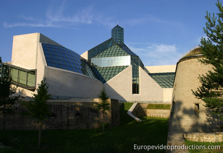 MUDAM Museum in Luxembourg City