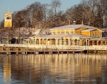 Naantali in Southern Finland in Winter