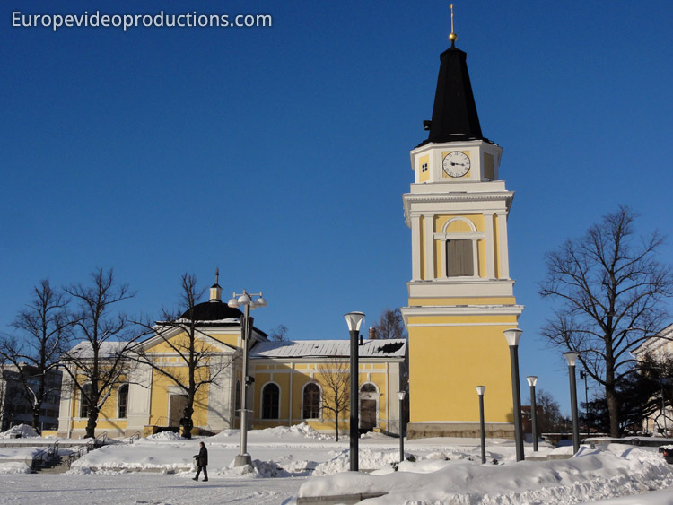 Old Church in Tampere, Finland