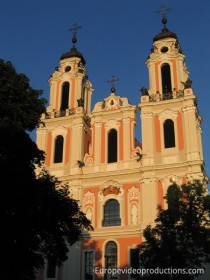Saint Catherine Church in Vilnius, Lithuania