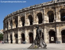 Arena in Nîmes, Frankreich