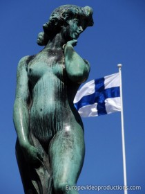 Statue of Havis Amanda in Helsinki, Finland