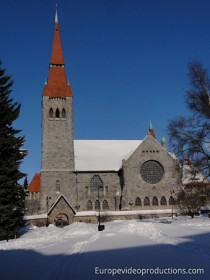 Cathedral in Tampere, Finland