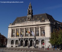 Town Hall of Charleroi in Belgium