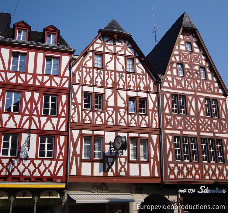 Trier City Centre in Mosel in Germany
