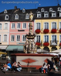 Market Square of Trier  in Germany