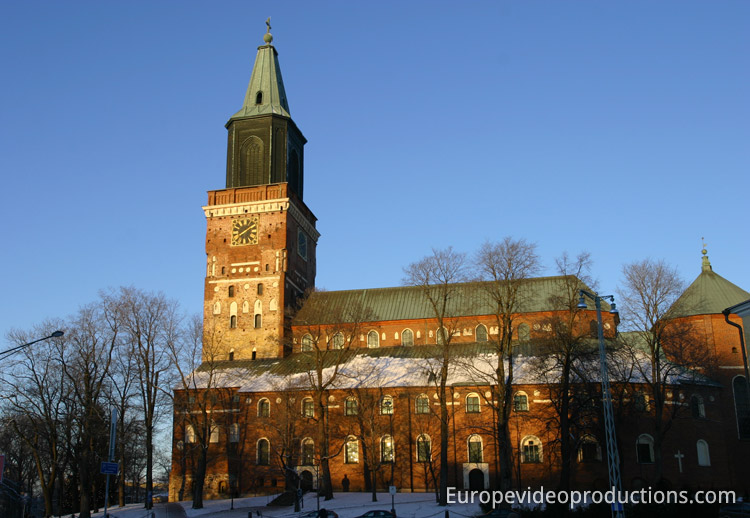 Medieval Cathedral in Turku, Finland