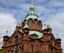Orthodox Cathedral in Helsinki, Finland