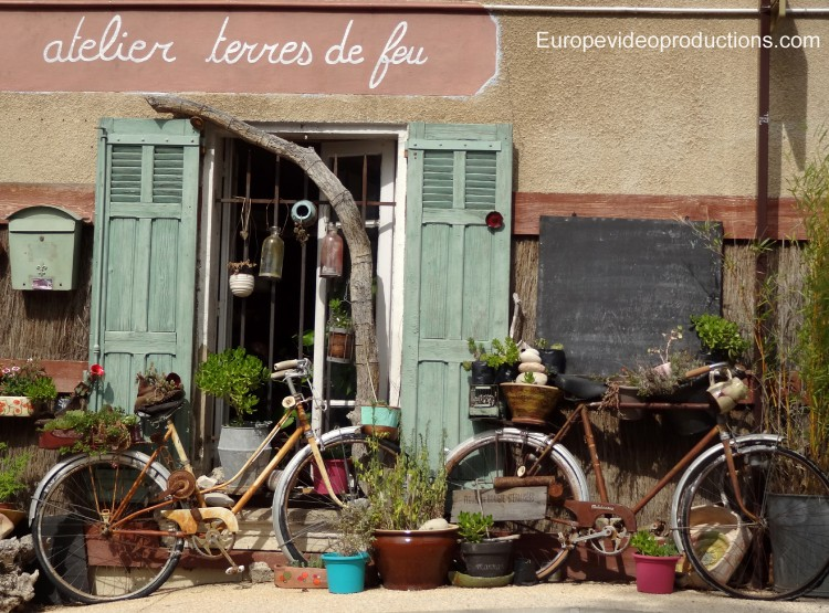 Bicycles in Provence in France