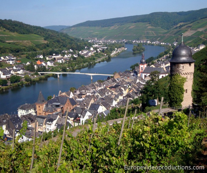 Zell in Mosel in Germany