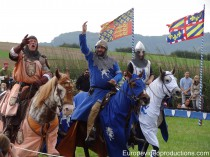 Medieval festival of Dudelange in Southern Luxembourg