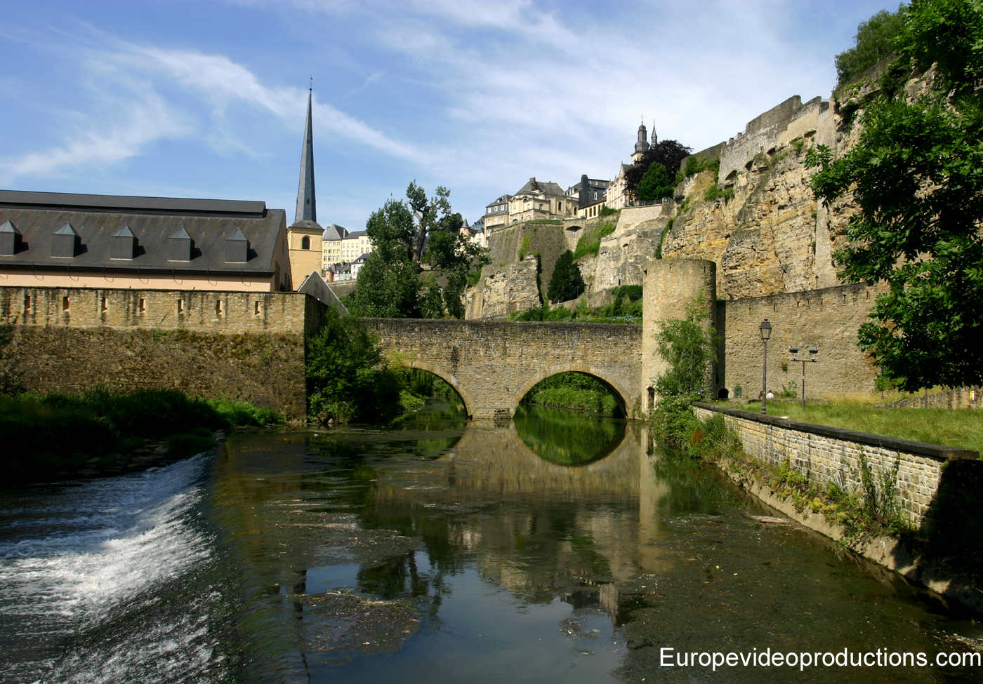 The Old town of Luxembourg with its fortifications – UNESCO World heritage site