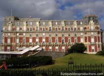 Hotel du Palais in Biarritz in Basque Country in France