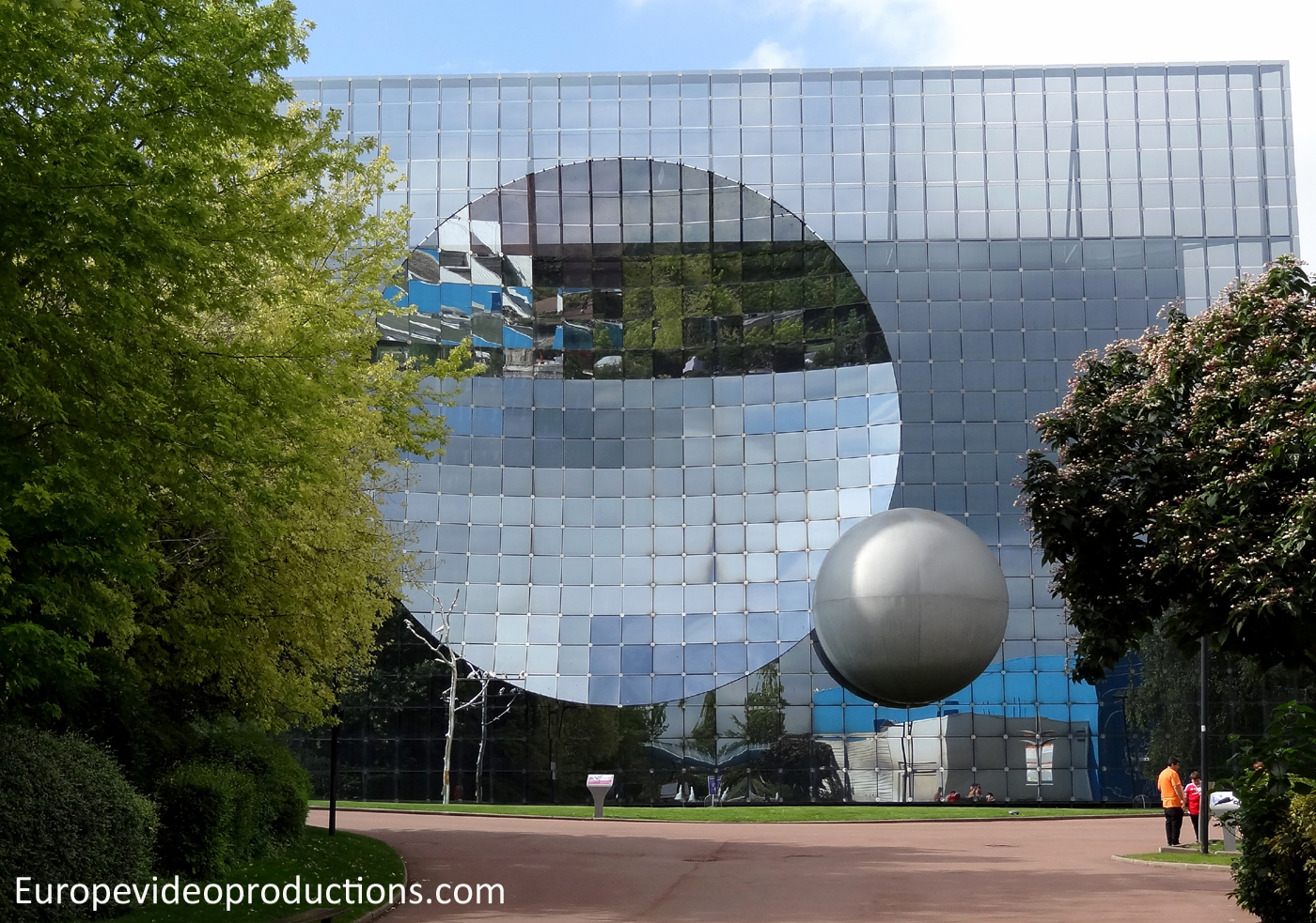 Parc du Futuroscope theme park in France