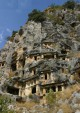 Myra Rock Tombs in Demre in Turkey
