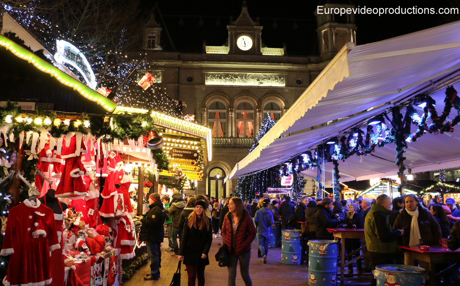 Christmas market of the Luxembourg City