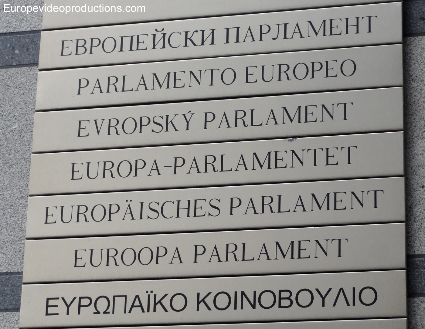 Brussels – City of the European Parliament and several other EU institutions
