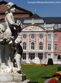 Rococo style Electoral palace of Trier in Germany