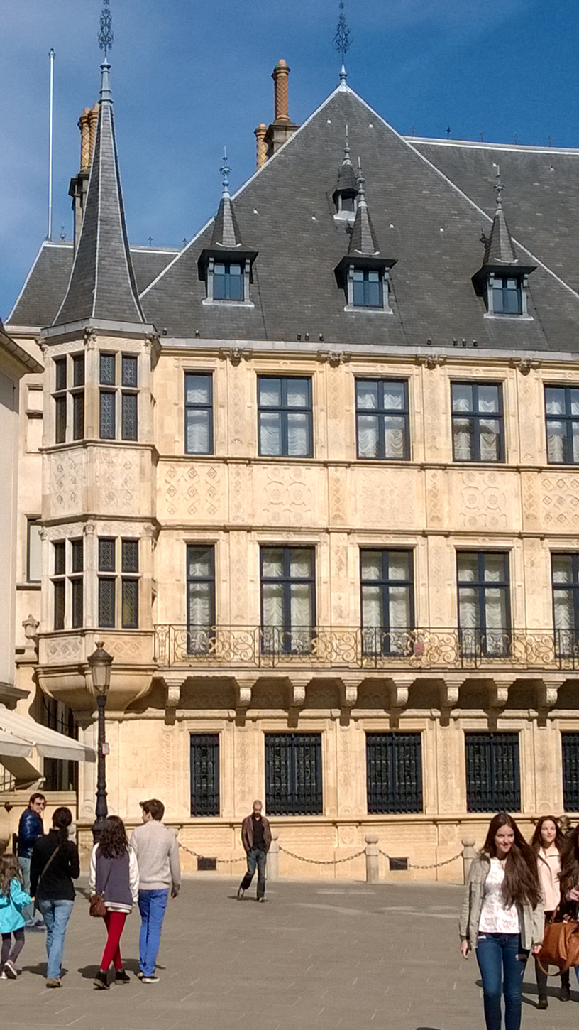 Palace of Grand-Duke of Luxembourg in Luxembourg City