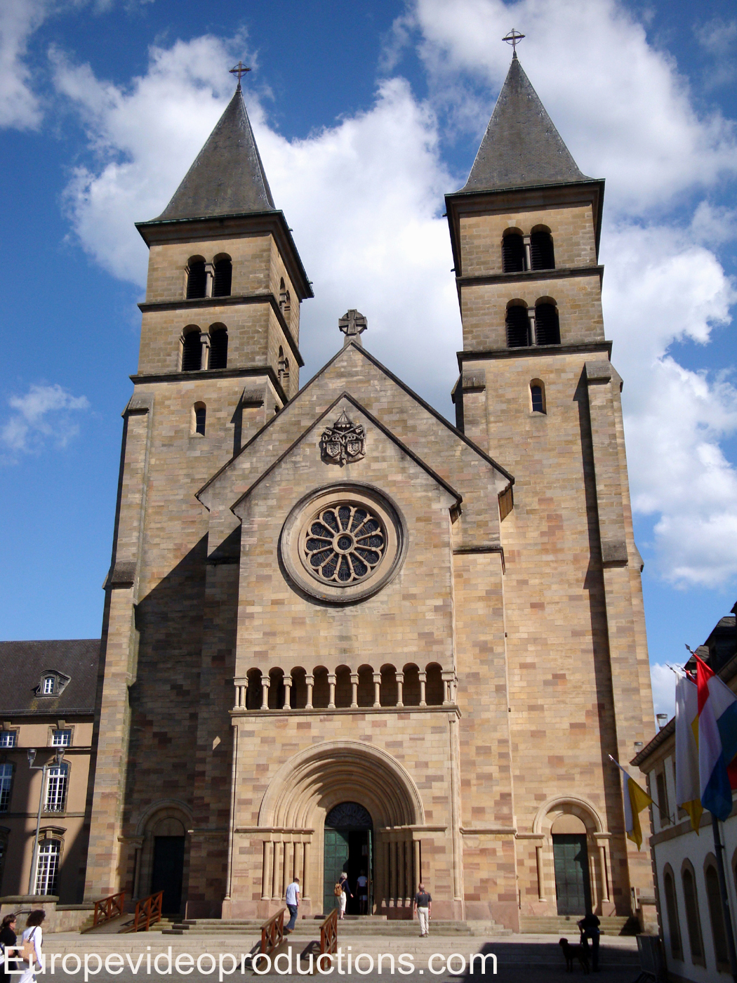 Abbey of Echternach in the Grand Duchy of Luxembourg