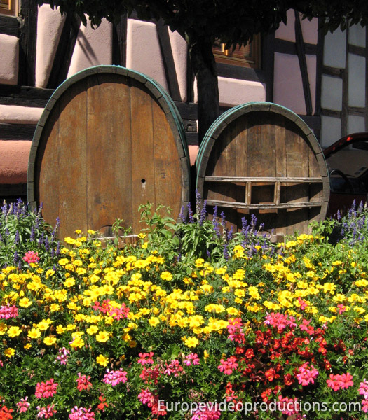 Alsace Wine Road in France