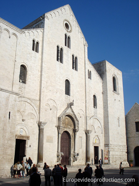 Basilica of Saint Nicholas in Bari, Italy