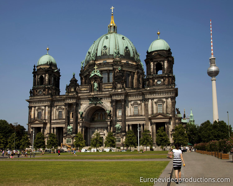 Berlin Cathedral in Germany