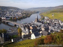 Bernkastel-Kues in Moselle Valley in Germany