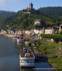 Cochem in Moselle Valley in Germany