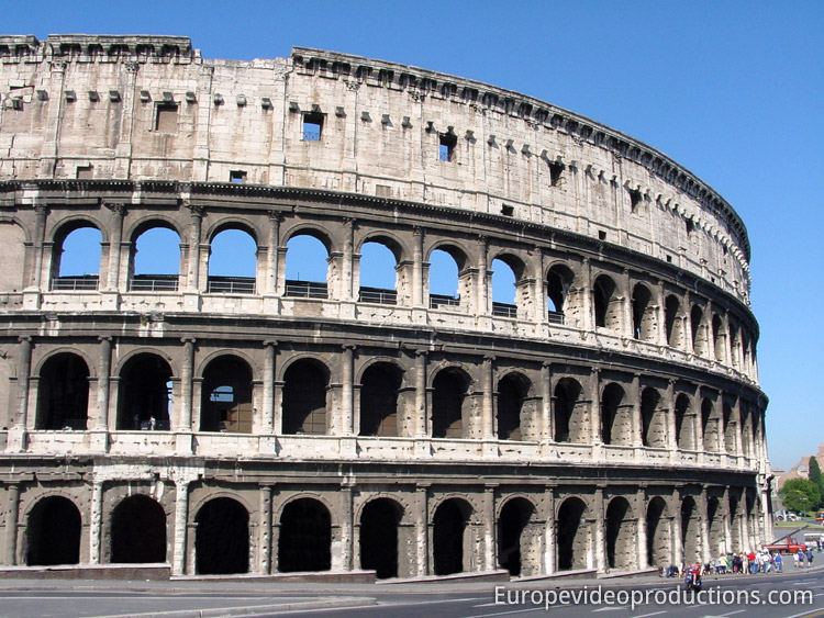 Colosseum in Rome in Italy